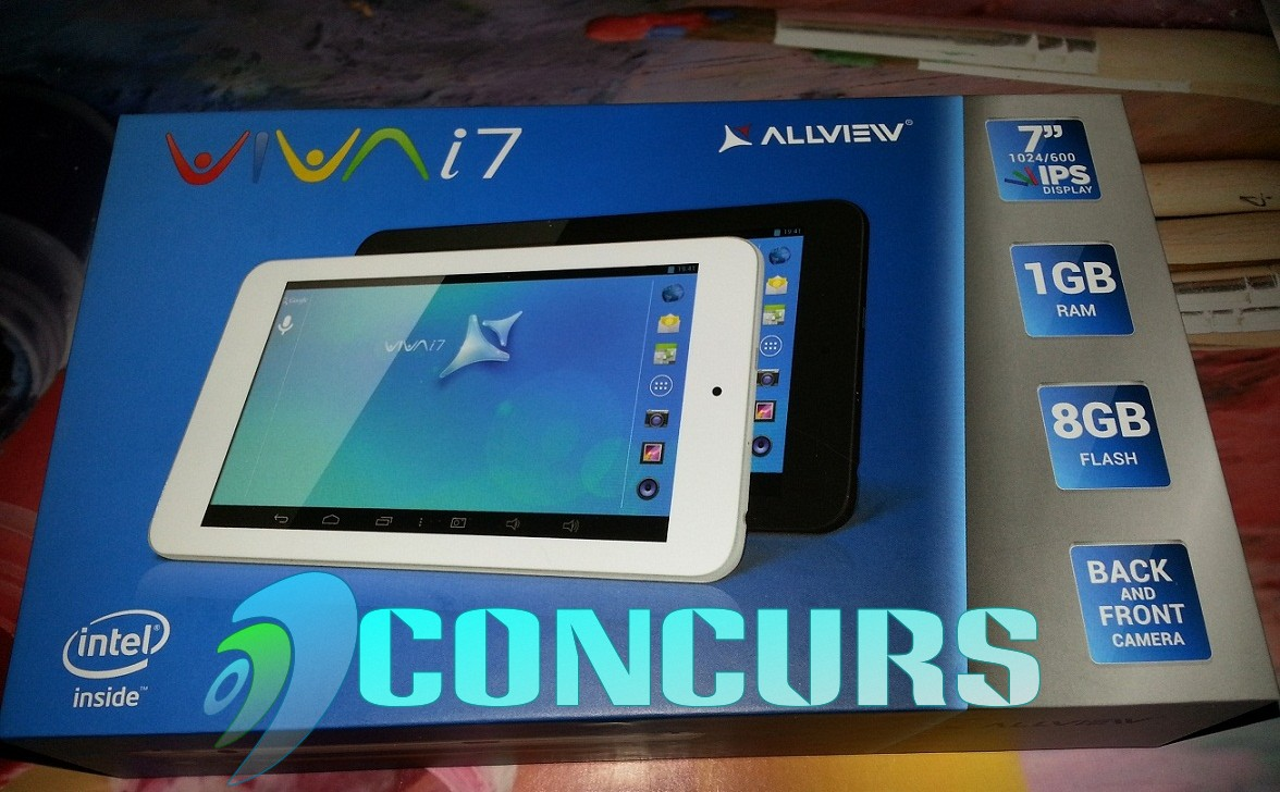 Allview VIVA i7 – Unboxing Si CONCURS