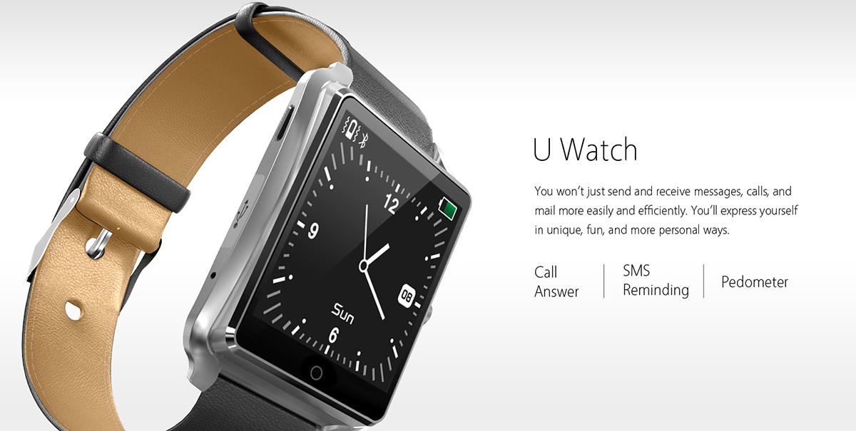 Bluboo Uwatch aparitie noua pe piata de ceasuri inteligente