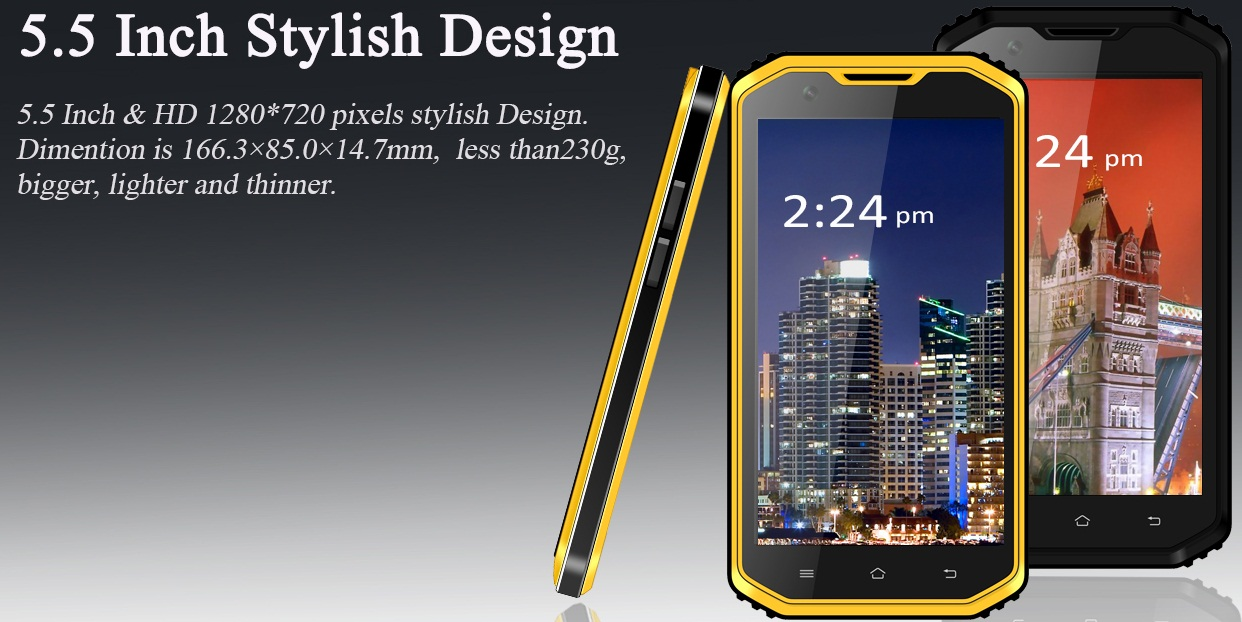 VPhone X3, un nou telefon ruddged chinezesc si destul de dotat