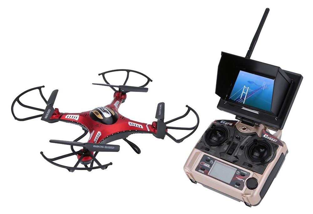 JJRC H8D o drona buna la un pret bun, avem GPS, camera video si un ecran LCD pe telecomanda