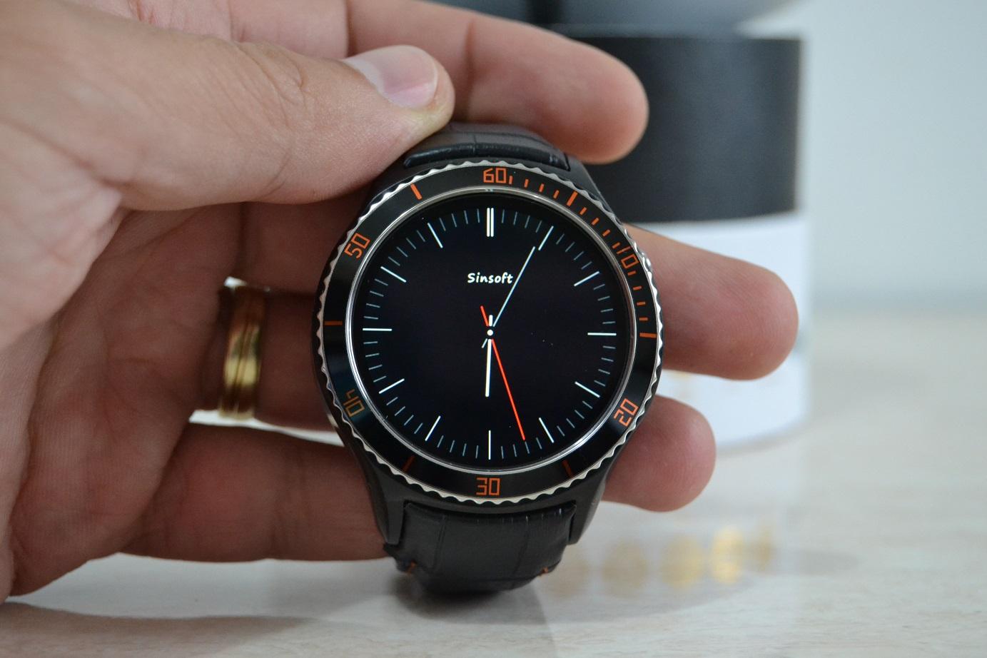 Unboxing si primele pareri, IQI I2 smartwatch cu Android, 3G si WiFi