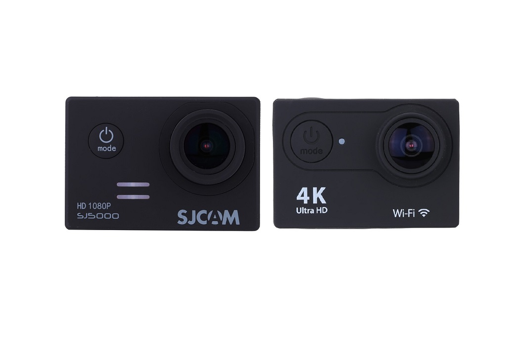 Camere video: EKEN H9SE 4k versus SJCAM SJ5000 Full HD
