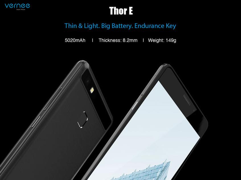 Vernee Thor E se va lansa oficial in cadrul MWC 2017