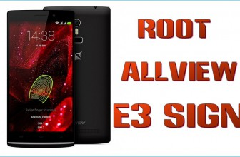 Root pe telefonul Allview E3 Sign – tutorial