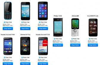 Ce telefoane sunt gratuite la Digi Mobil in august 2015