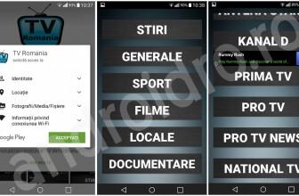 Canale TV online romanesti gratuit pe telefon cu aplicatia SopCast