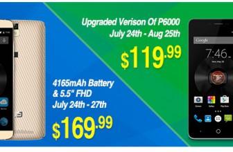 Elephone P6000 Pro si Elephone P8000 la super preturi