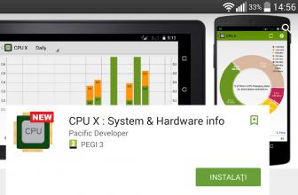 Aplicatie ce-ti arata absolut toate datele despre procesorul telefonului si sistem