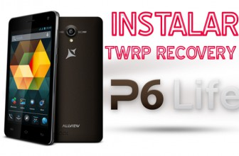 Instalare custom recovery TWRP pe Allview P6 Life