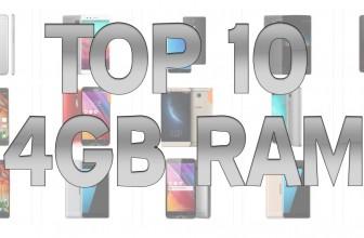 Top 10 telefoane accesibile ale momentului cu 4GB memorie RAM