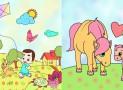 Aplicatie – carti de colorat gratuite pentru copii cu diferite teme si imagini