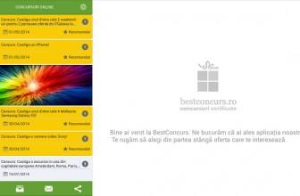 Bestconcurs, aplicatia Android pentru vanatorii de concursuri