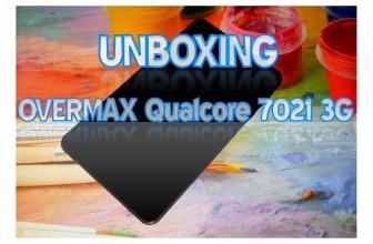 Unboxing Overmax Qualcore 7021 si primele pareri
