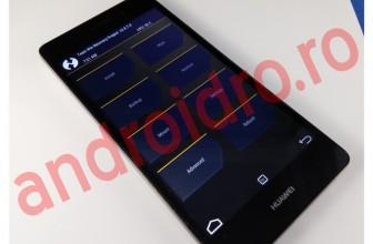 Instalare flash recovery TWRP 2.8.7 Kirin pe Huawei P8 Lite