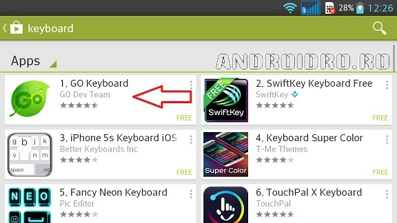 1 Cum Instalez Alta Tastatura Android Pe Telefon