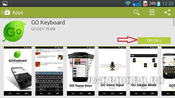 2 Cum Instalez Alta Tastatura Android Pe Telefon