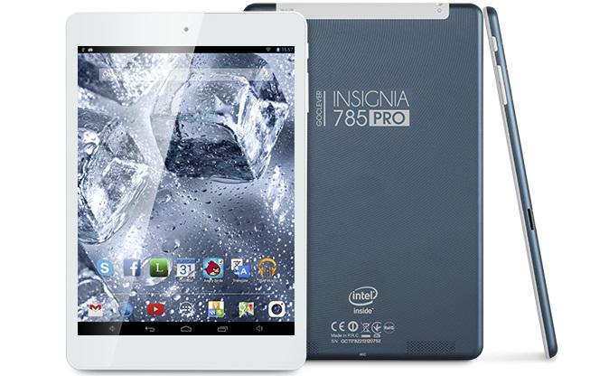 o INSIGNIA 785 PRO Tableta Android Cu Intel LA Bord