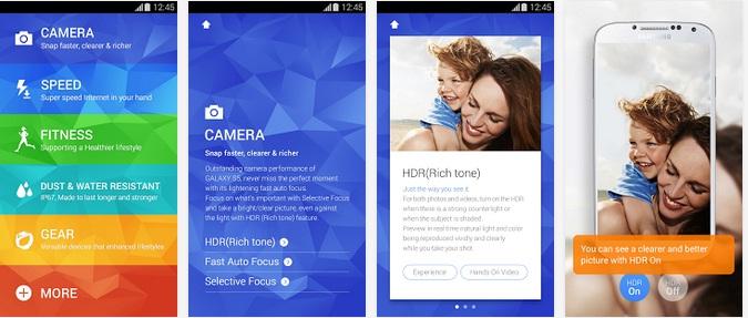 Untitled Aplicatie Oficiala Pentru Samsung Galaxy S5