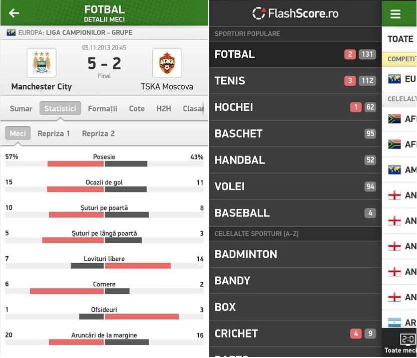 Untitled Scoruri Live Si Statistici Din Sport Pe Android