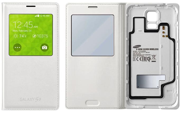 r Carcasa Cu Incarcare Wireless Pe Galaxy S5