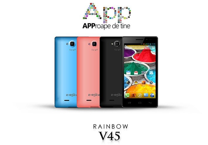 ss Rainbow V45 Noul Telefon Android De La E-Boda