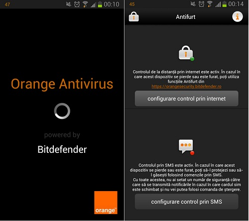 Untitled Orange Antivirus Aplicatie Pentru Android