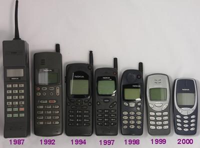 ppp Telefoanele Mobile De Ieri Si De Azi - Evolutie