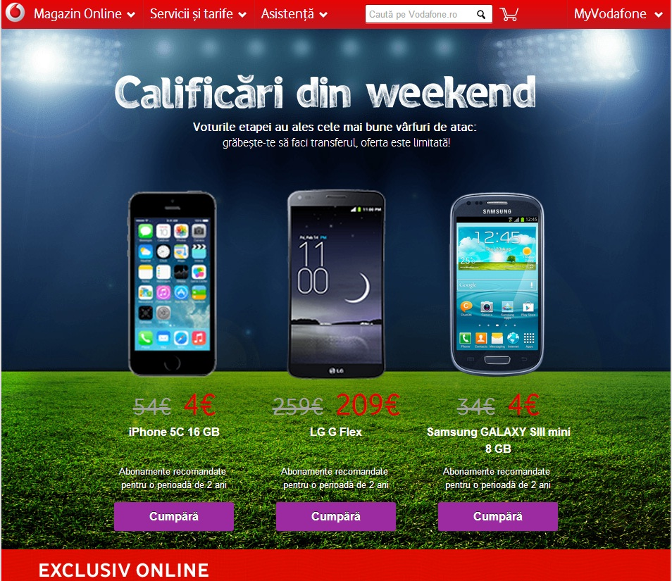 Untitled Super Oferte La Vodafone In Timpul CM FIFA 2014