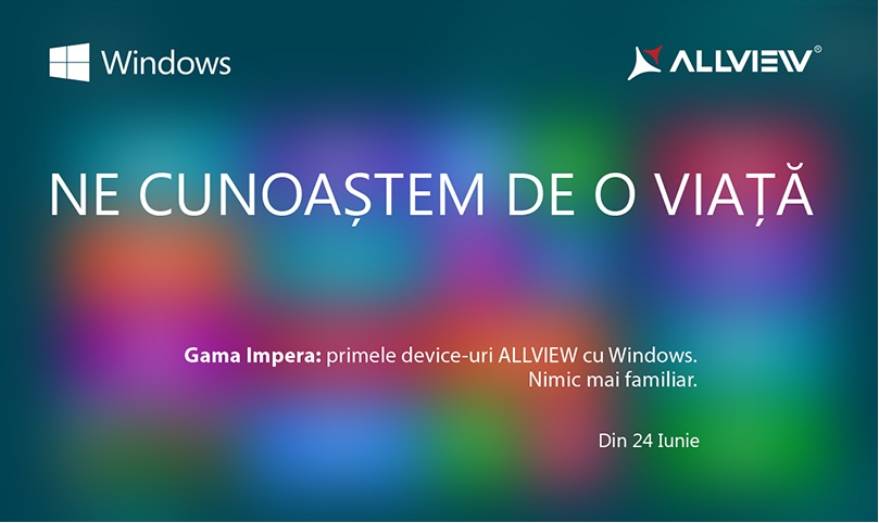 invitatie allview Allview Trece La Windows Phone 8.1 Prin IMPERA