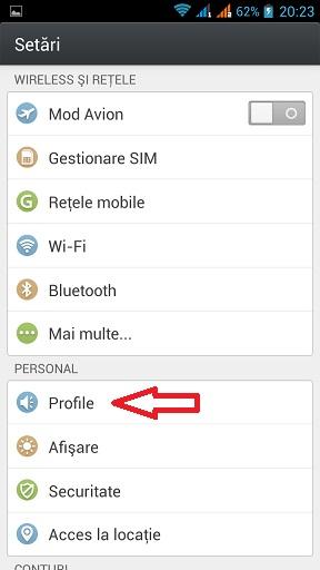 2 Cum Setezi Tonul De Apel Pe Un Telefon Dual SIM