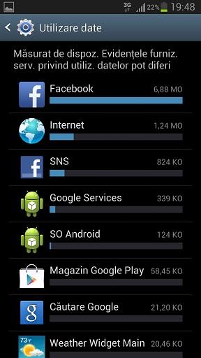 5 Cum Setezi Limitarea Datelor Mobile - Trafic Internet