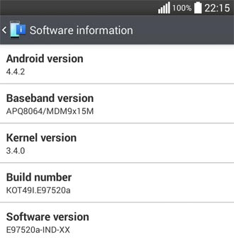 Untitled LG Optimus G Primeste Android 4.4 KitKat