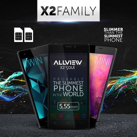 eeee X2 Mini Si X2 Twin Noile Telefoane De La Allview