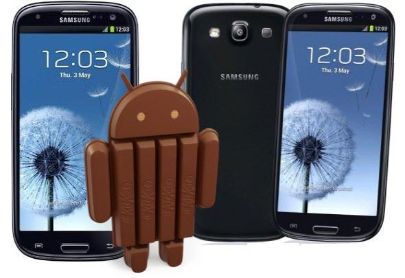 er Galaxy S3 Primeste Update La KitKat 4.4.4