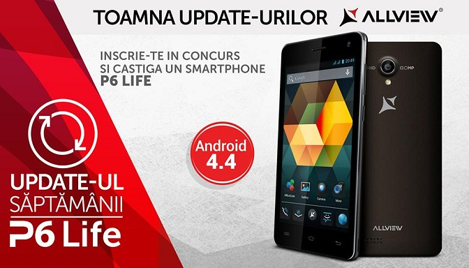 33 Allview P6 Life Update Firmware Oficial 4.4 KitKat