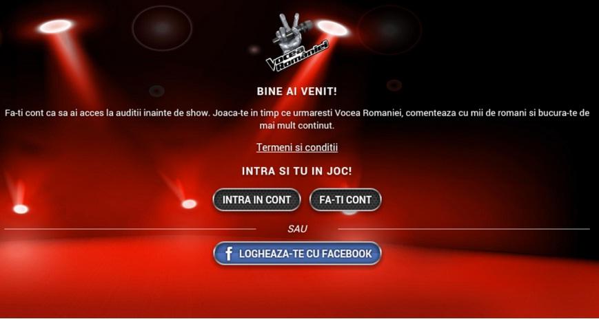 Utyhe6uy7nyt6y344io890oytgd Fii Antrenor La Vocea Romaniei, Aplicatie Oficiala