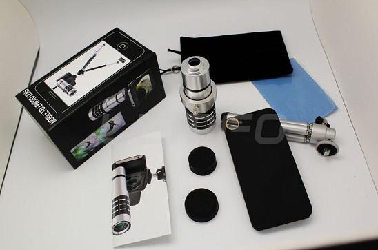 12zoomset Telescoape Si Lentile Pentru Telefonul Mobil