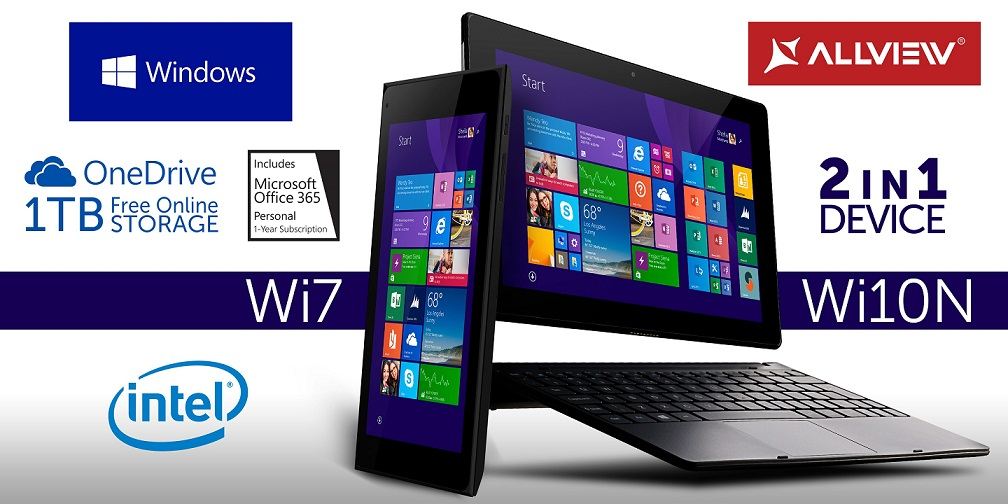 Wi10N-&-Wi7 Wi7 Si Wi10N Tablete Allview Noi Lansate