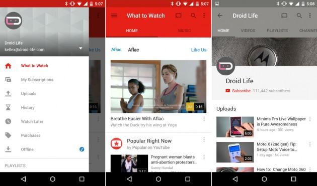 lolyoudroili Google Schimba Radical Aspectul YouTube