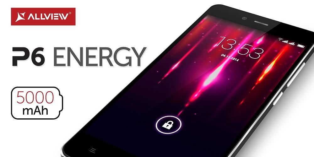 45rtgfds Allview P6 Energy Lansat Cu O Super Baterie