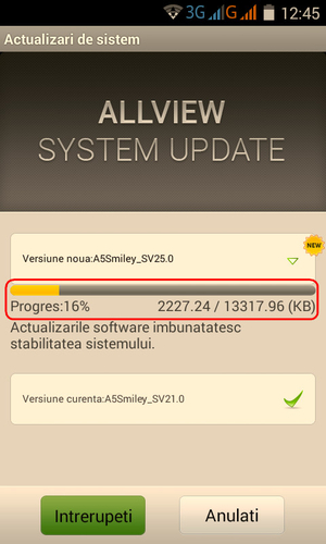 546454545t A5 Smiley Update Android Oficial Allview