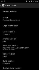 Custom ROM Allview Viper i Si CWM