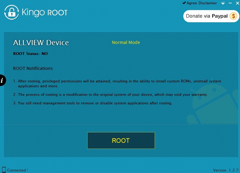mnfgyij56rtfdx Root Pe Allview A5 Smiley Cu KitKat