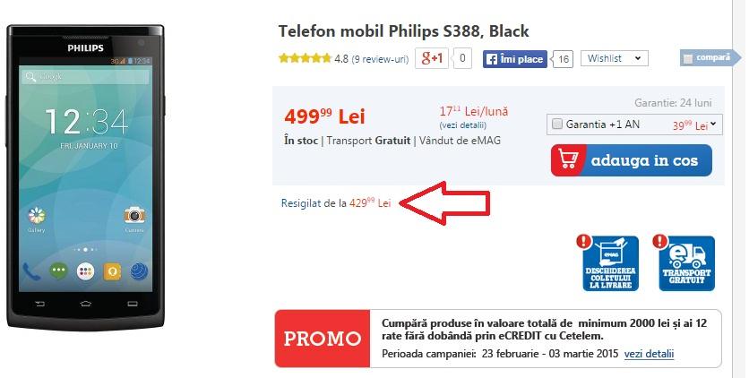 678 Reduceri La Telefoanele Resigilate La eMag