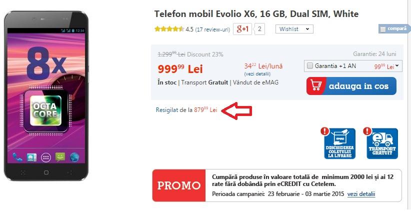 876 Reduceri La Telefoanele Resigilate La eMag