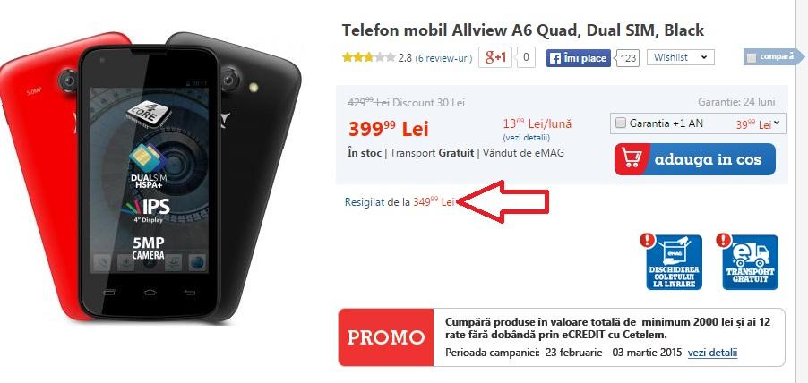899 Reduceri La Telefoanele Resigilate La eMag