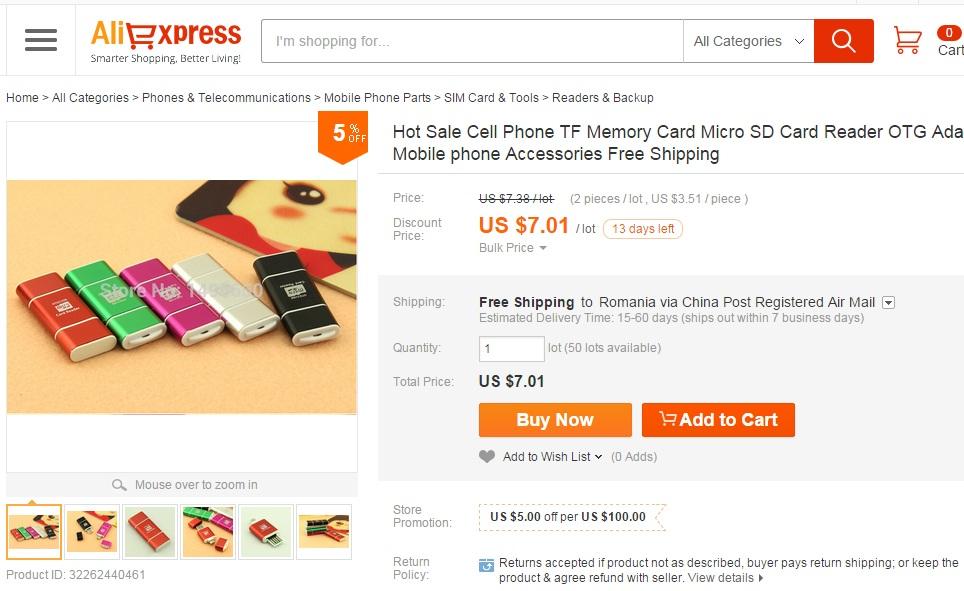 dyh Ce electronice ieftine mai cumparam din China