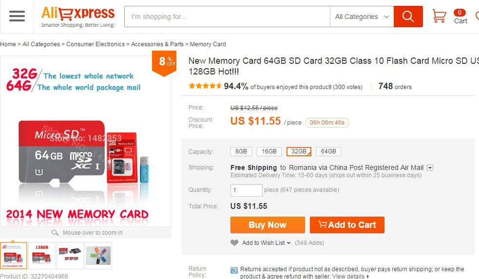 hnd Ce electronice ieftine mai cumparam din China
