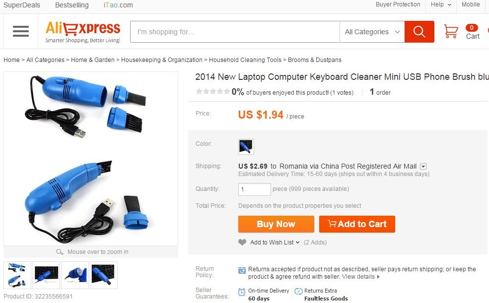 rfgve Ce electronice ieftine mai cumparam din China