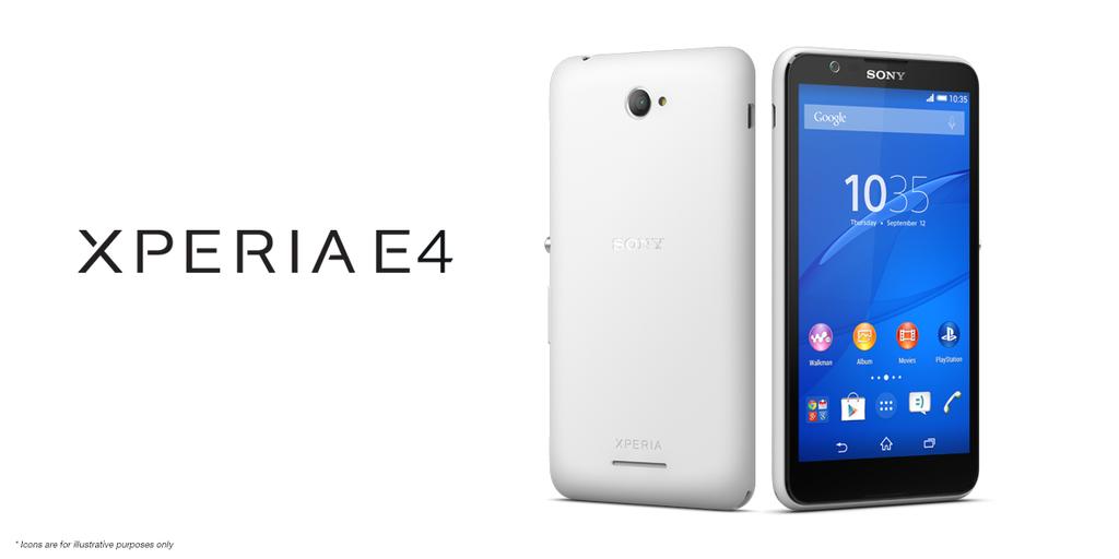 sd34 Sony Xperia E4 Pareri, Lansare SI Pret